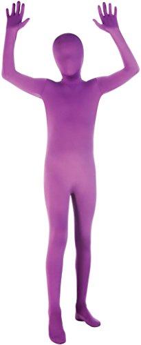Purple Morph Suits (Purple 2nd Skin Suit Kids Costume)