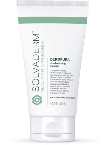 Solvaderm's Dermpura Foaming Skin Balancing Cleanser Washes Away Impurities, Repairs Damage and Soothes Irritation with an Infusion Of Natural Botanicals
