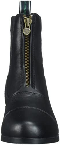 ARIAT Damen Stiefelette Heritage IV Zip H2O (mit Reißverschluß vorne), schwarz, 5.5 (38.5)
