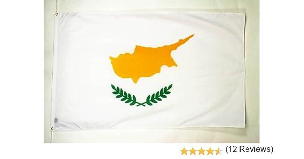 AZ FLAG Bandera de Chipre 90x60cm - Bandera CHIPRIOTA 60 x 90 cm: Amazon.es: Hogar