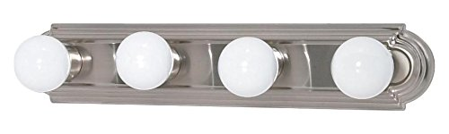 4 Light 24In. Vanity Racetrack Style - (4) 15W Gu24 Lamps Include