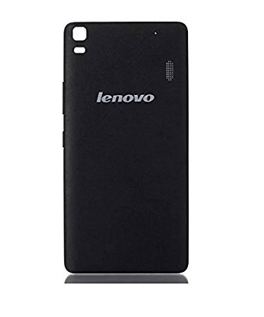 brand new 7c954 090f4 SARA Plastic Replacement Back Panel for Lenovo K3 Note (Black)