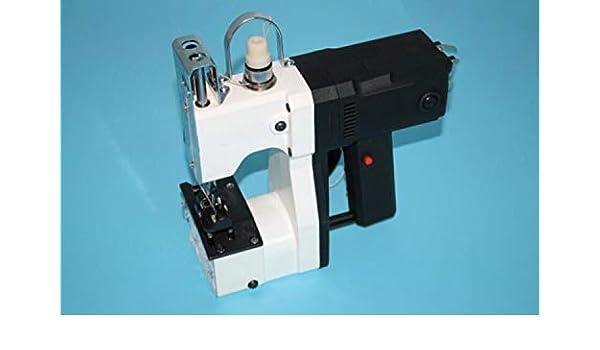 Máquina de cierre de bolsas Máquina de coser portátil Bolsa de costura Máquina de coser eléctrica Bolsa de costura Sellado para tejido Saco de piel de serpiente Papel de arroz Bolsa de