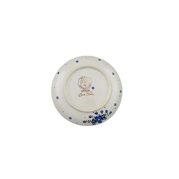 Boleslawiec Style Pottery Hand Painted Polish Ceramic Nina dessert plate (19) 132-U-420