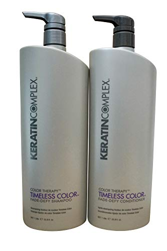 - Keratin Complex Color Therapy Timeless Fade Defy Duo Shampoo and Conditioner 33 oz