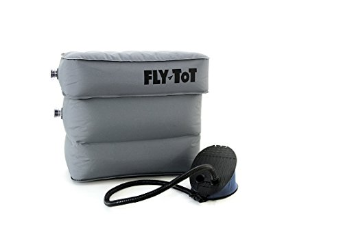 (Fly Tot Inflatable Airplane Cushion (Single Unit - One Cushion, One Pump))