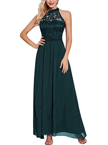 Abendkleider aus Grün Abschlussballkleider Dark Abiball Länge Tee Ballkleider Tüll Schulter 001 A01ExU