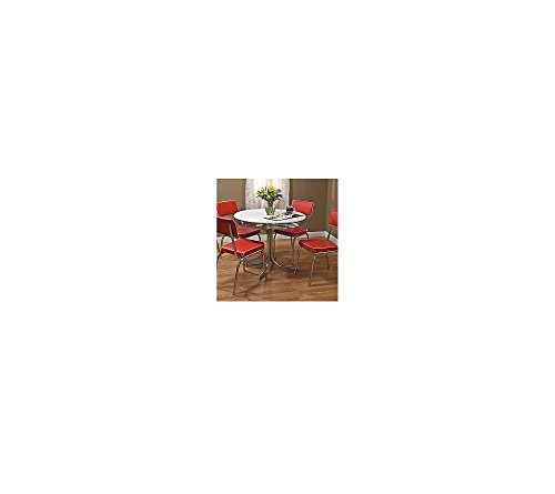 Target Marketing Systems 5-Piece Retro Dining Set 31Ar0 2BZCPwL