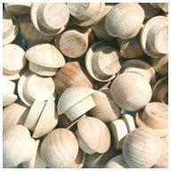 WIDGETCO 5/16'' Maple Button Top Wood Plugs