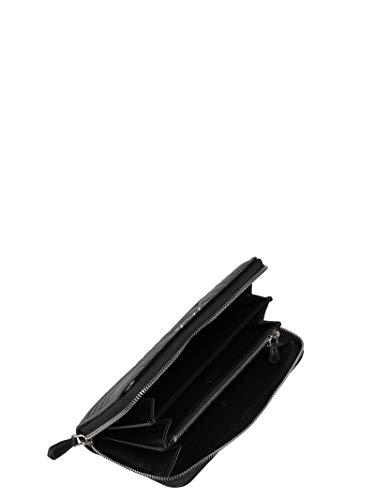 1MH1322B0XF0002 Billetera Mujer Prada Negro Cuero 5Rwa7