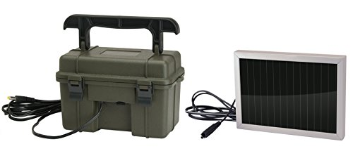 Stealth Cam 12V Battery Box with 1/2W Solar