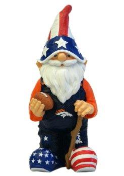 NFL Denver Broncos Patriotic Gnome