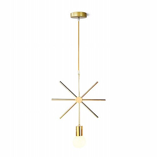 DEN Nordic chandelier creative restaurant bar tea shop table small chandeliers,B,One size by DEN