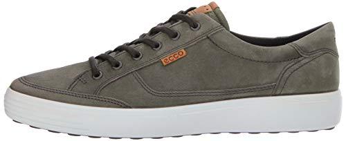 ECCO Men's Soft 7 Fashion Sneaker, Wild Dove, Grey, 44 EU / 10-10.5 US