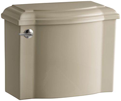 KOHLER 4438-33 Devonshire 1.28 GPF Toilet Tank, Mexican Sand