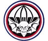 Army Ranger Tattoo (US Army Widowmakers 502nd Division Patch Decal Sticker)