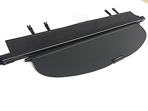 Kaungka Cargo Cover Retractable for 2015 2016 2017 2018 2019 Subaru Outback Black (with Power Rear gate)