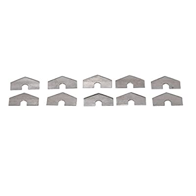 Replacement Cutter Blades for Automatic Drywall Taping Tools - 10 Pack Stainless Steel