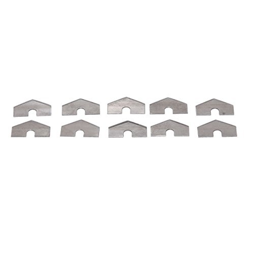Pack Drywall (Replacement Cutter Blades for Automatic Drywall Taping Tools - 10 Pack Stainless Steel)