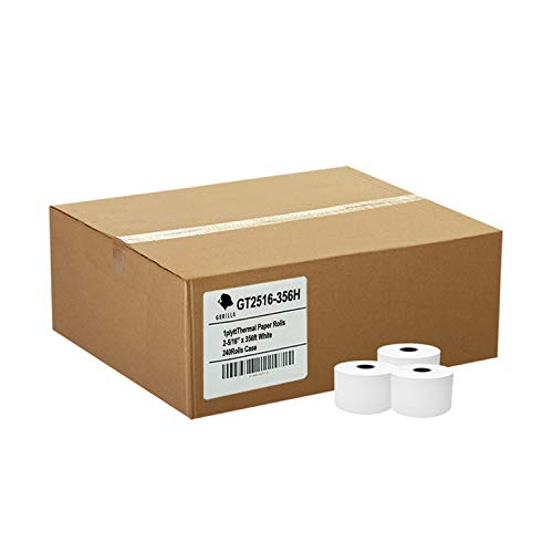 (24) Pay-at-Pump Thermal Paper Rolls 2-5/16 X 356 Gas Station
