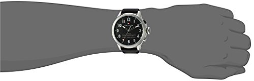 Tommy-Hilfiger-Mens-TH-247-Quartz-Stainless-Steel-and-Leather-Smart-Watch-ColorBlack-Model-1791299