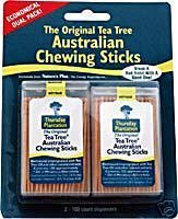 (Thursday Plantation Tea Tree Original Chewing Sticks Dual Pack (200 Counts))