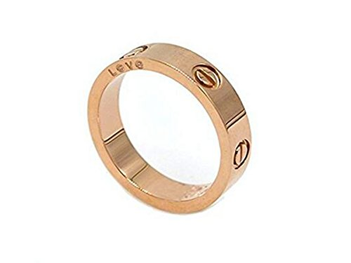 Fire Ants Love Ring-Rose Gold Lifetime Just Love You With(5)