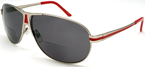 BiFocal Sun Readers Classic Aviator Reading Sunglasses - Sunglasses Reading Aviator