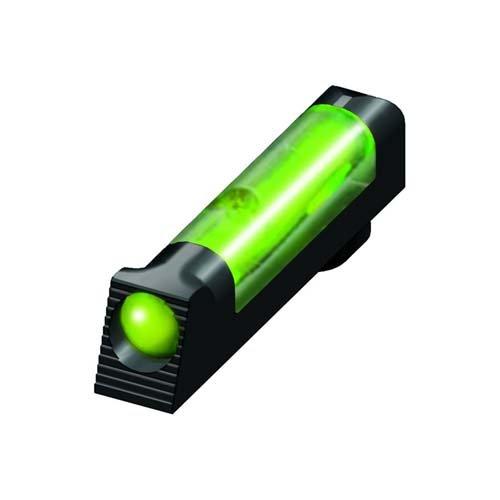 Glock Green Front Sight - Hi-Viz HIVIZ Glock Overmolded Fiber Optic Tactical Front Sight (Green)