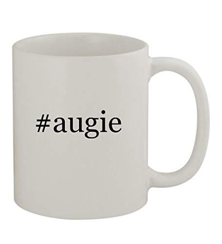 #augie - 11oz Sturdy Hashtag Ceramic Coffee Cup Mug, White ()