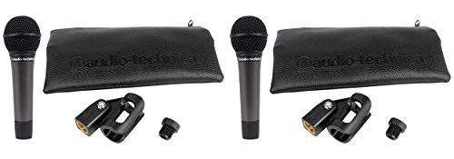 (2) Audio Technica ATM510 Cardioid Dynamic Handheld Vocal Microphone ATM 510 Mic by Audio-Technica