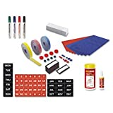 MasterVision Professional Magnetic Kit for Use with Magnetic Planning Boards, 31-Pieces