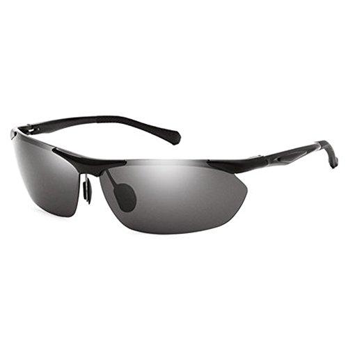 d0673aa387 Gafas de sol coreanas nuevas de los vidrios polarizados de los hombres Gafas  de sol de