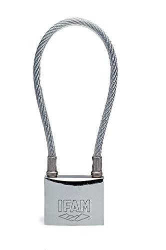 Ifam Seguridad. U. 85051 - Candado seg arco largo con cable ...