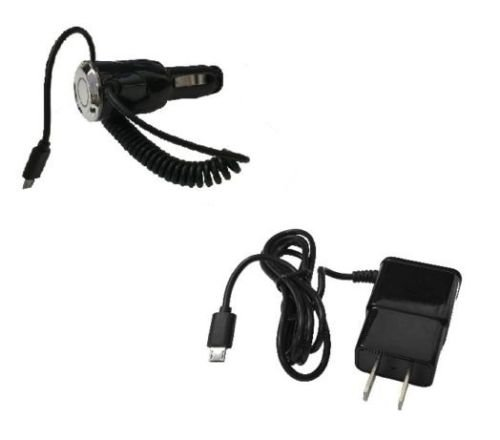 Wall Travel Home Charger for Nokia Lumia 521 520 FYL 2 AMP Car Charger