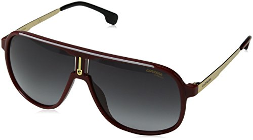 Carrera 1007/S C9A9O (Red - Gold with Grey Gradient - Carrera Gold Sunglasses Frame