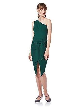 Bee U By Joelle Behlock Fashion-D011-Women'S-2200 Women'S Dresses-Dark Green-40 Eu