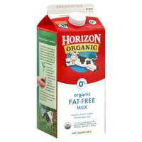 HORIZON MILK ORGANIC FAT FREE 64 OZ PACK OF 2