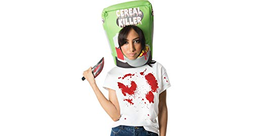 M&J Trimmings Papillion Accessories Cereal Killer Halloween Costume Accessory Kit for Adults, 2 Pieces