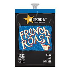 FLAVIA ALTERRA Coffee, French Roast, dark and intense, 0.32 Ounce, 20-Count (Pack of 5)