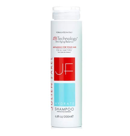 Julien Farel Hydrate Shampoo, 6.8 Fl Oz - SLS & Paraben Free, Color Treated, Scalp Treatment - Best for Dry, Fine, Thinning, Damaged and All Hair Type - Helps Nourish, Strengthen, Protects Breakage