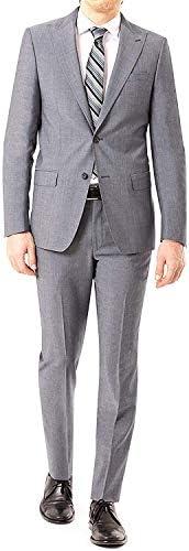 カジュアル スーツ スリーピース メンズ グレー 大きいサイズ 礼服 紳士