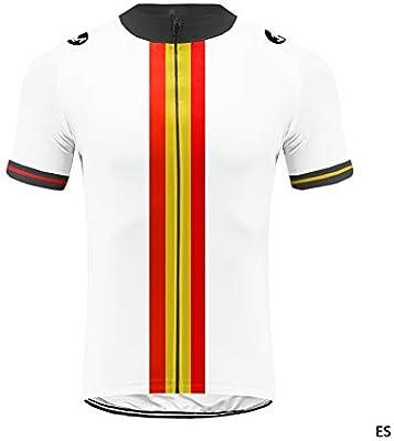 Uglyfrog Equipo de España Verano Hombre Cycling Jersey Maillot ...