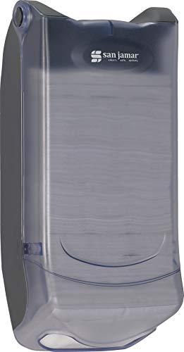 San Jamar H5004P Venue Wall Mount Mini Interfold Napkin Dispenser, 600 Capacity, 8'' Width x 15-3/4'' Height x 5-9/10'' Depth, Clear by San Jamar (Image #7)