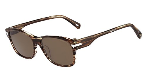 G-Star Raw GS605S Wayfarer Sunglasses, Striped Brown, 55 - G Raw Star Sunglasses