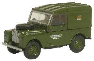 1:76 Green Oxford Diecast Post Office Telephones -