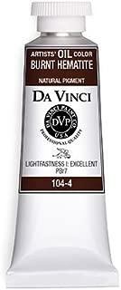 product image for Da Vinci Burnt Hematite Oil Color (37mL)