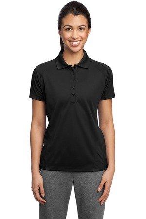Sport-Tek Ladies Dri-Mesh Pro Sport Shirt, Black, X-Large
