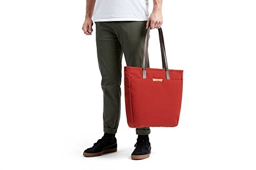 Bellroy Tokyo Tote, Water-Resistant Woven Tote Bag (13'' Laptop, Tablet, Notes, Cables, Drink Bottle, Spare Clothes, Everyday Essentials) Red Ochre by Bellroy (Image #8)