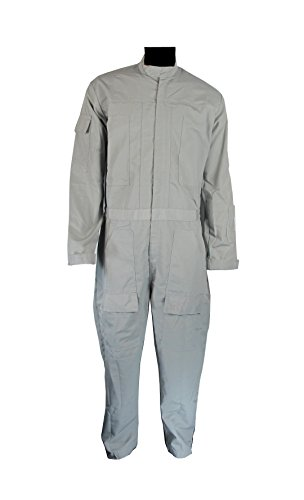 Star Wars At-At Driver Gray Jumpsuit Costume Pilot Flightsuit Uniform (XL)